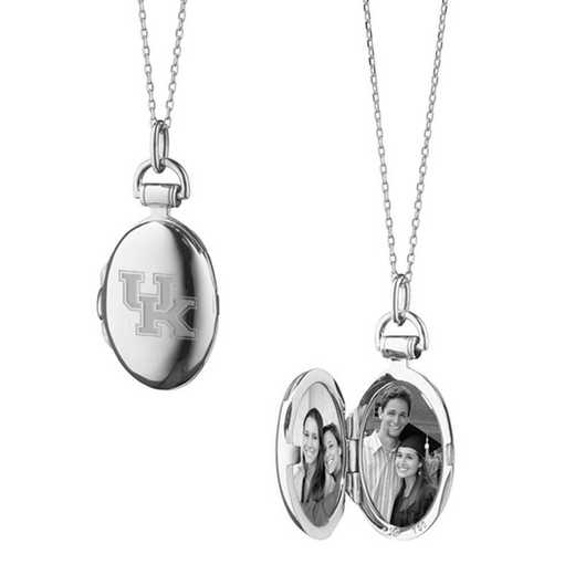 615789813644: University of Kentucky Monica Rich Kosann Petite Locket