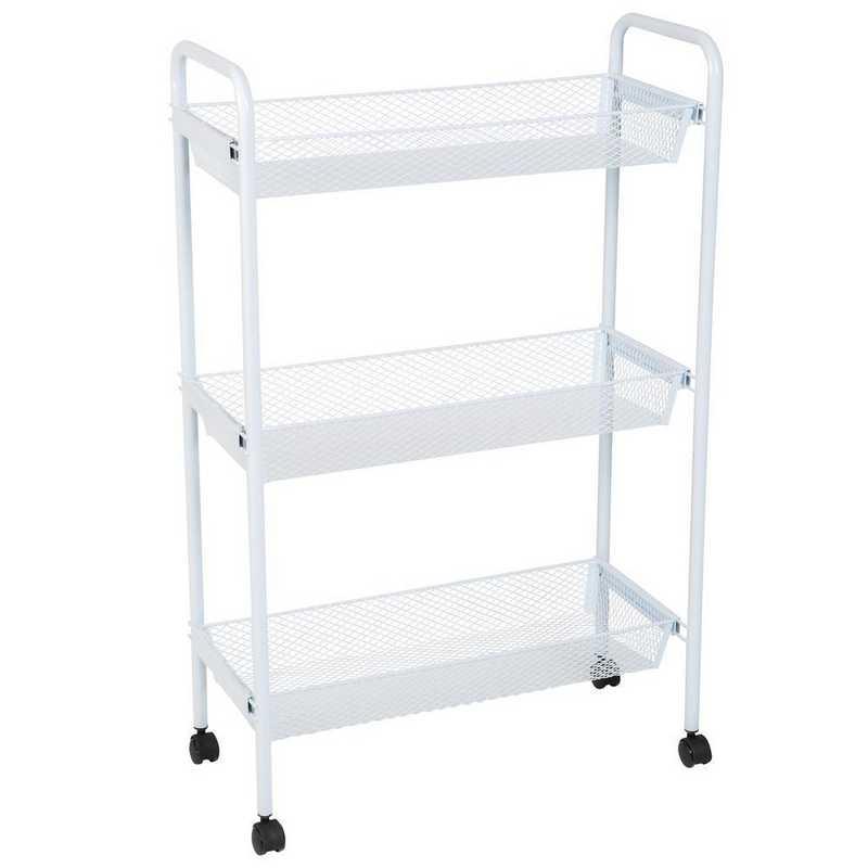 Simplify Deluxe 3 Tier Rolling Storage Cart