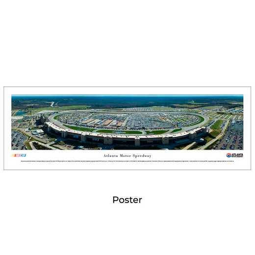 ATMS2: Atlanta Motor Speedway, Unframed Poster