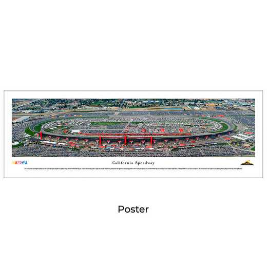 CS1: California Speedway, Unframed Poster