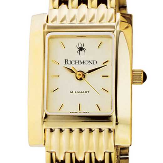 615789120940: University of Richmond Women's Gold Quad W/ Bracelet