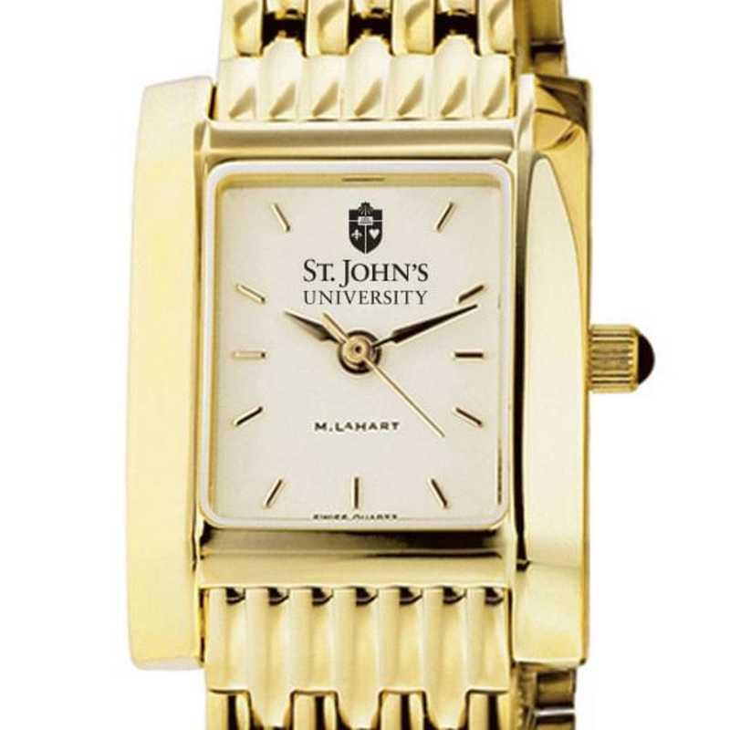 615789892267: St. John's Women's Gold Quad W/ Bracelet