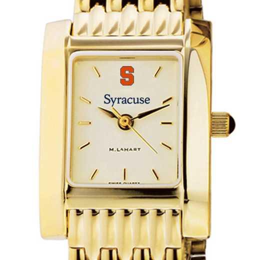 615789012245: Syracuse University Women's Gold Quad W/ Bracelet