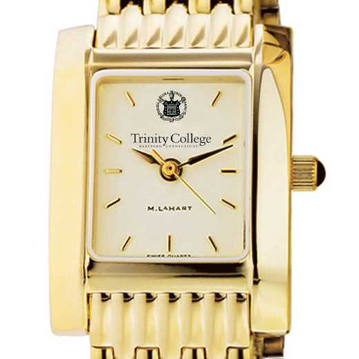 615789107101: Trinity College Women's Gold Quad W/ Bracelet