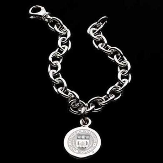 615789623656: Boston College Sterling Silver Charm Bracelet