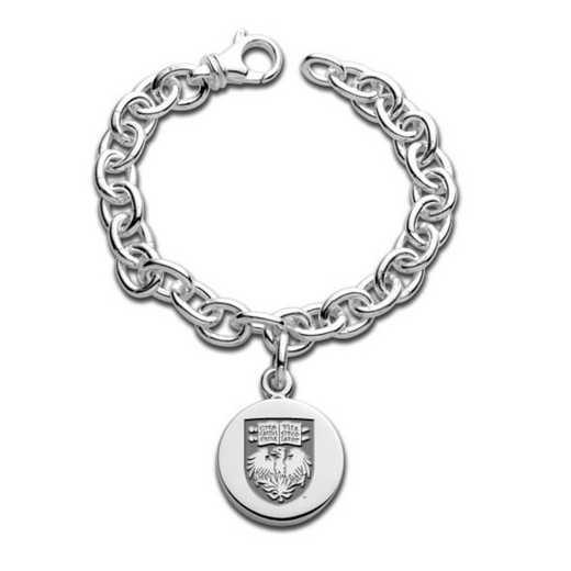 615789072324: Sterling Silver Charm Bracelet