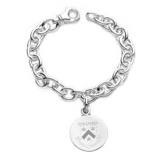 615789910329: Columbia Sterling Silver Charm Bracelet
