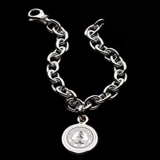 615789452331: Stanford Sterling Silver Charm Bracelet