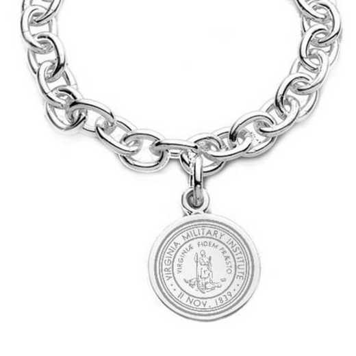 615789760542: VMI Sterling Silver Charm Bracelet