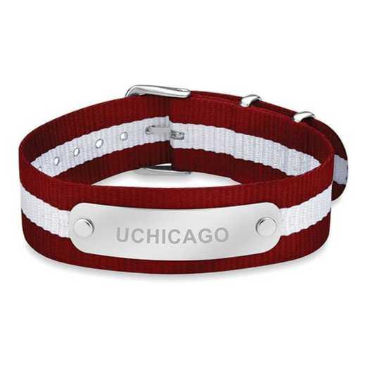 615789939061: Chicago (Size-Large) NATO ID Bracelet