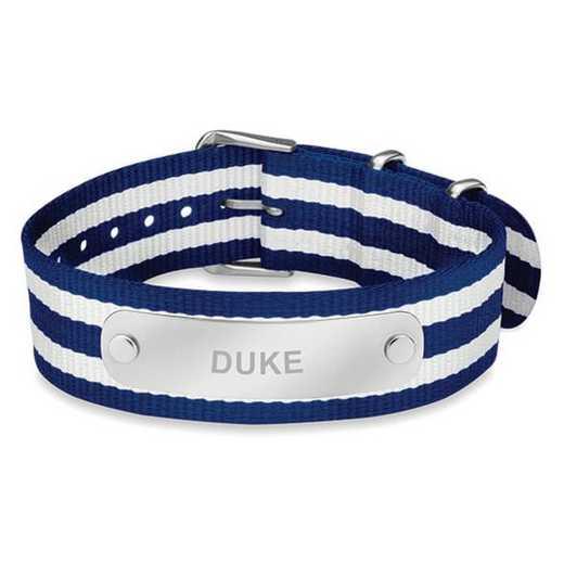 615789039273: Duke (Size-Large) NATO ID Bracelet