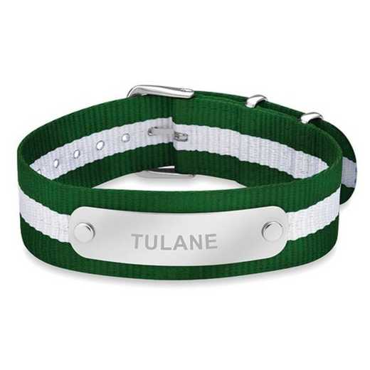 615789189039: Tulane University (Size-Medium) NATO ID Bracelet