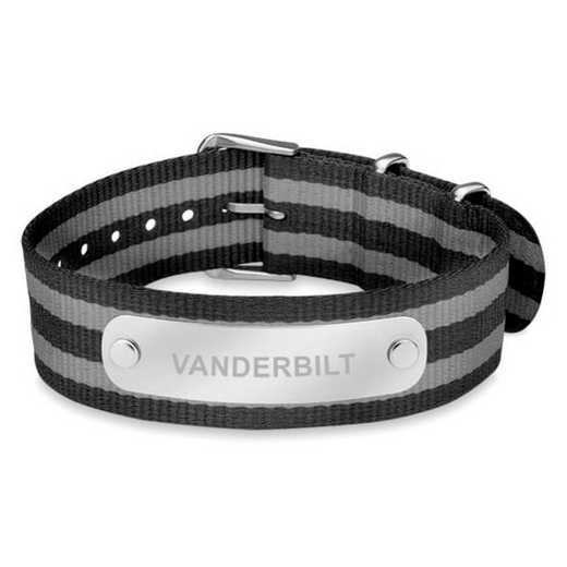 615789056508: Vanderbilt (Size-Large) NATO ID Bracelet