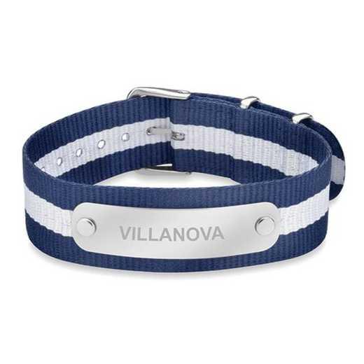 615789929024: Villanova (Size-Large) NATO ID Bracelet