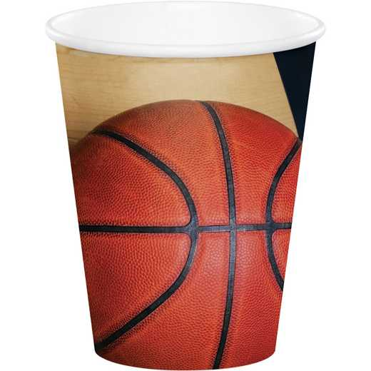 DTC377964CUP: CC Basketball Cups - 24 Count