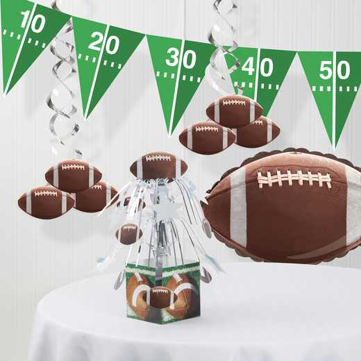 DTC6151C1A: CC Football Decorations Kit