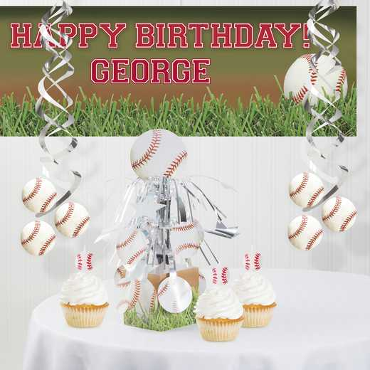 DTC7963C1A: CC Baseball Decorations Kit