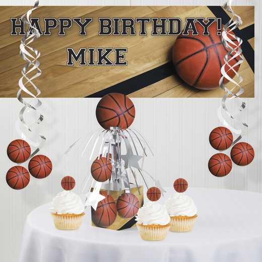 DTC7964C1A: CC Basketball Decorations Kit