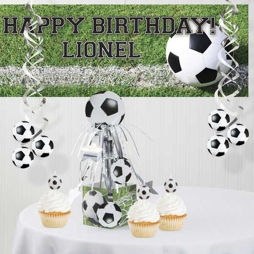 DTC7966C1A: CC Soccer Decorations Kit
