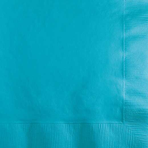 801039B: CC Bermuda Blue Beverage Napkins - 50 Count