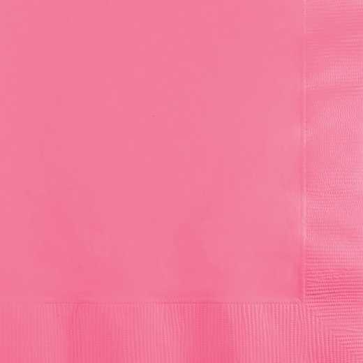 803042B: CC Candy Pink Beverage Napkins - 50 Count