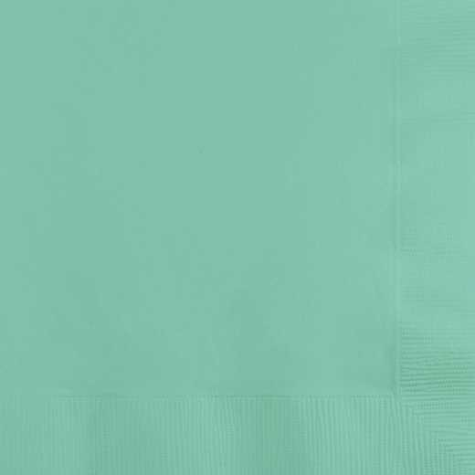 318891: CC Fresh Mint Green Beverage Napkins - 50 Count