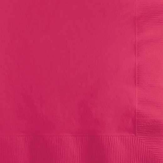139197154: CC Hot Magenta Pink Beverage Napkins - 50 Count