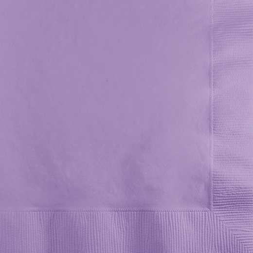 139186154: CC Luscious Lavender Purple Beverage Napkins - 50 Count
