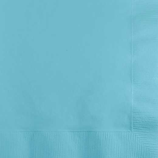 139179154: CC Pastel Blue Beverage Napkins - 50 Count