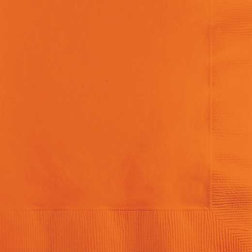 139352154: CC Sunkissed Orange Beverage Napkins - 50 Count