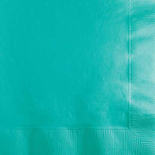 324767: CC Teal Lagoon Beverage Napkins - 50 Count