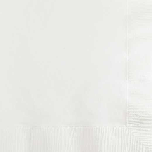 139140154: CC White Beverage Napkins - 50 Count