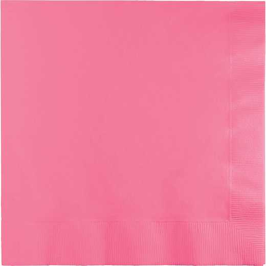 663042B: CC Candy Pink Lg Napkins - 50 Count