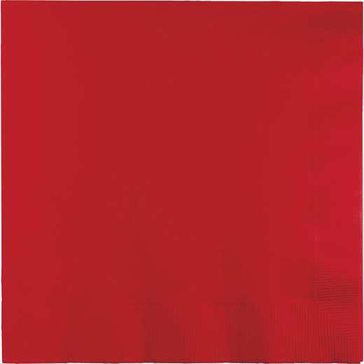 661031B: CC Classic Red Lg Napkins - 50 Count