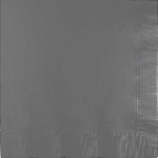 339641: CC Glamour Gray Lg Napkins - 50 Count