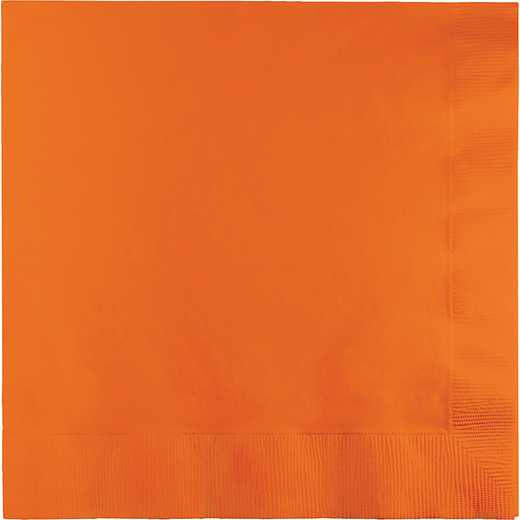 139352135: CC Sunkissed Orange Lg Napkins - 50 Count