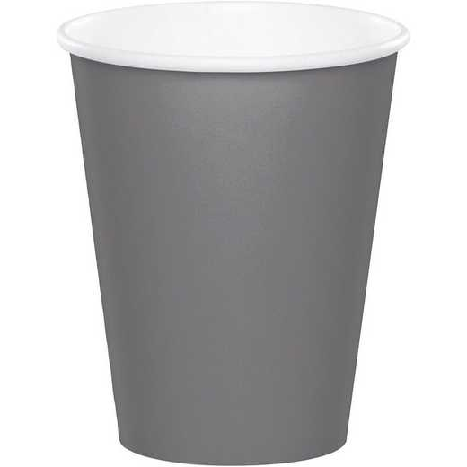 339647: CC Glamour Gray Paper Cups - 24 Count