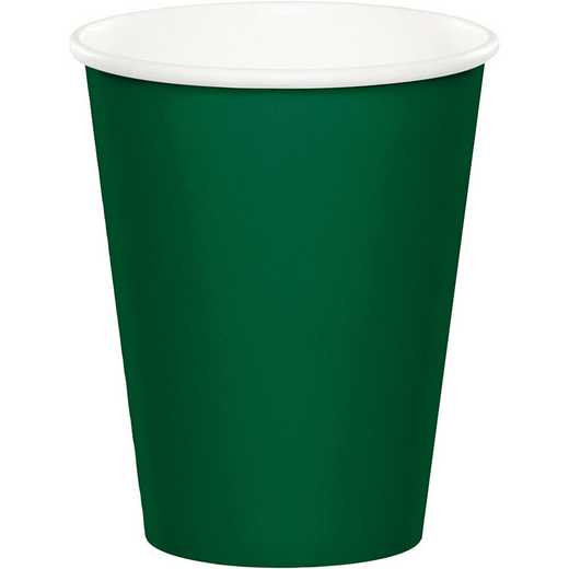 563124B: CC Hunter Green Cups - 24 Count