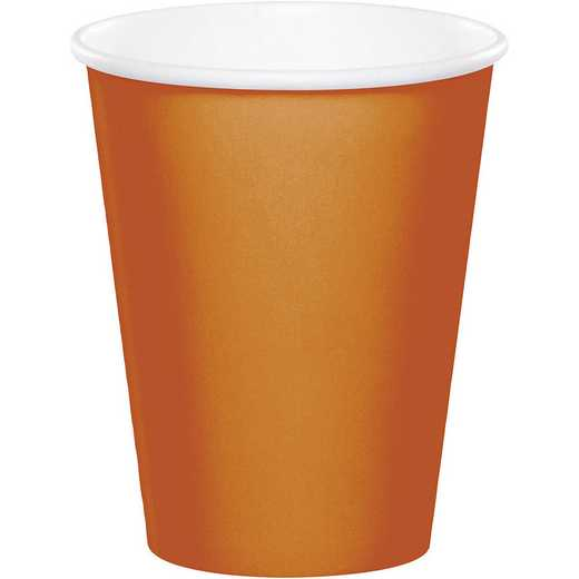 323394: CC Pumpkin Spice Orange Cups - 24 Count