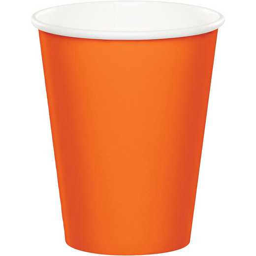 56191B: CC Sunkissed Orange Cups - 24 Count