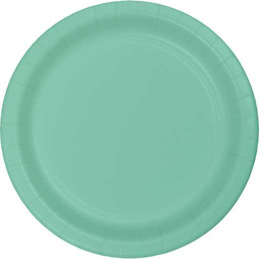 318888: CC Fresh Mint Green Paper Plates - 24 Count