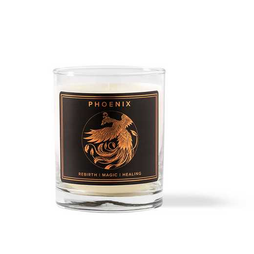 BTY16CDL04: Phoenix Candle, 9.6 Oz