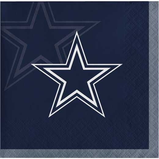 DTC659509BNAP: CC Dallas Cowboys Beverage Napkins
