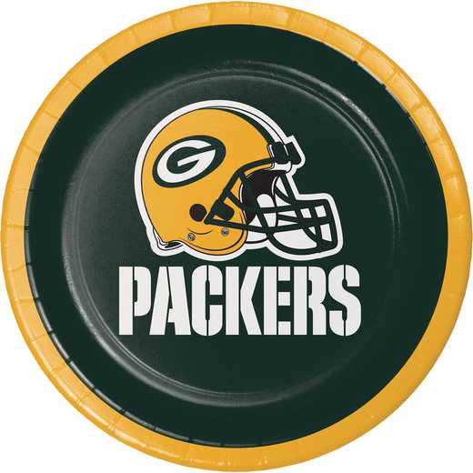 DTC419512PLT: CC Green Bay Packers Dessert Plates