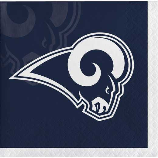 DTC335910BNAP: CC Los Angeles Rams Beverage Napkins