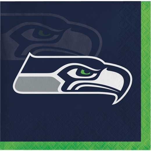 DTC659528BNAP: CC Seattle Seahawks Beverage Napkins