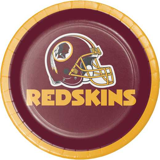 DTC335919PLT: CC Washington Redskins Dessert Plates