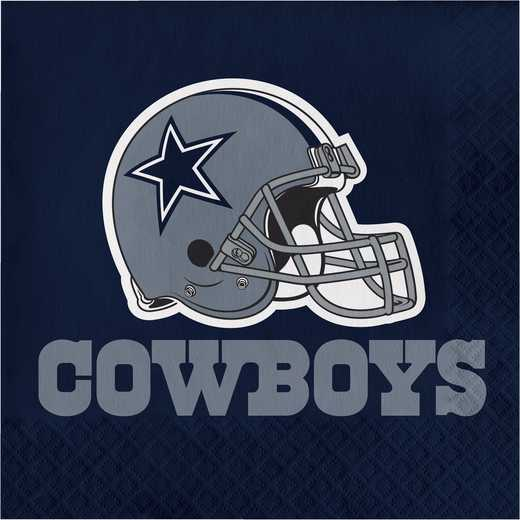 DTC669509NAP: CC Dallas Cowboys Napkins