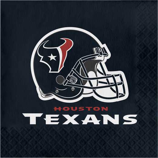 DTC669513NAP: CC Houston Texans Napkins