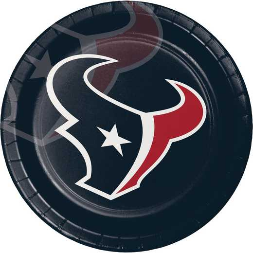 DTC429513DPLT: CC Houston Texans Paper Plates